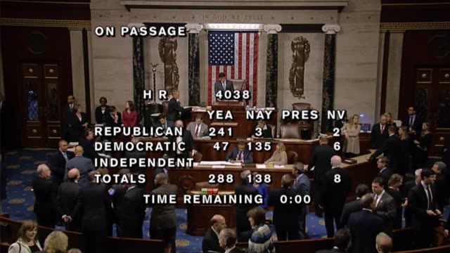 Following 2 hours of extensive contentious debate the house of representatives passed legislation introduced days before in response to the potential...