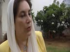 Following the suicide attack in Karachi on her supporters Pakistan's former Prime Minister Benazir Bhutto talks about being targeted by extremists