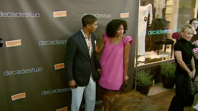 Fonzworth Bentley and Tracee Ellis Ross at the Decadestwo Retailer Celebrates Opening of Expanded Space at decadestwo in Los Angeles California on...