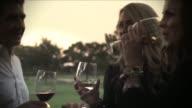KTLA Food And Wine Festival Sweeps People Drinking Wine on August 10 2012 in Los Angeles California