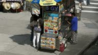 Food cart in NYC