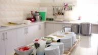 Speisen in der Küche