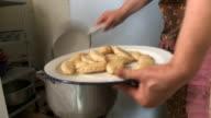MS Food putting in plate  / Georgia