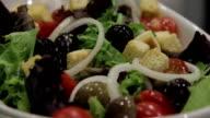 food restaurant Porto olives salad