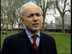 Vaccination considered ITN London Iain Duncan Smith MP interviewed SOT We know there are nearly seventy thousand animals not hitting their twenty...