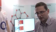 Footage and interview with Professor Robert Young about a graphenelike material that can be used to prevent counterfeiting The technology is tiny in...