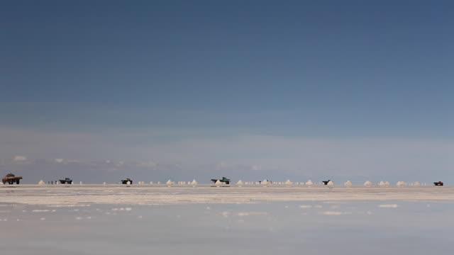 Footage from Bolivia Salar de Uyuni Trucks