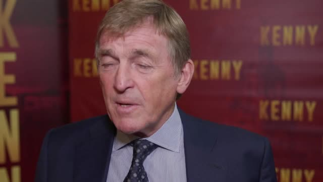 "Footage from the premiere of ""Kenny"" a documentary about former Liverpool player and manager Kenny Dalglish Kenny Dalglish former Arsenal striker Ian..."