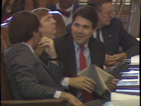 Footage from the Texas House of Representatives and the Seventieth Texas Legislature Passing 1185 of the 4179 bills filed the Seventieth Legislature...