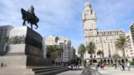 Footage from Uruguay Montevideo