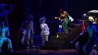 Footage of a Cirque Du Soleil show at Aria Hotel Casino Las Vegas Nevada October 10th 2015 NO