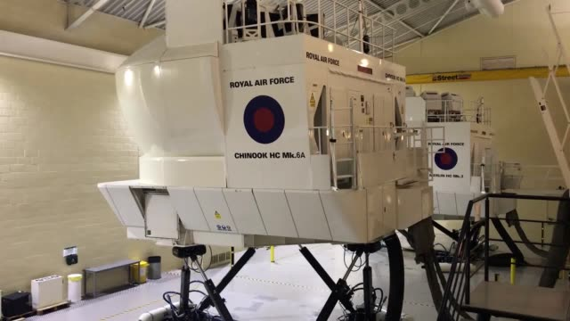 Footage of a state of the art helicopter simulation centre which has just received a £90 million investment from the Ministry of Defence More than...