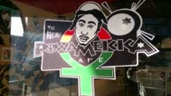 Footage of a Tupac themed popup eatery Take3 that opened in Fresno on the 20th anniversary of the rapper's death