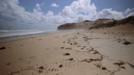 4K footage of an empty beach in Wilson Promontory, Victoria, Australia