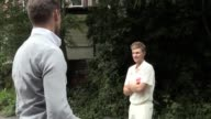 Footage of Joe Root filming a UV themed promo for Vitality Health Insurance in Sheffield which involved him hitting paint filled balls ahead of the...