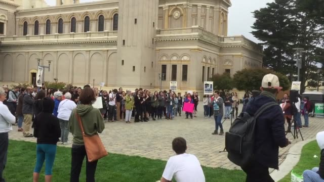 Footage of sttudent protest at USD against the Dakota Access Pipeline during a national day of action