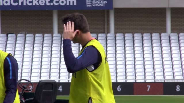Footage of the England cricket team training ahead of the 2nd Investec Test against South Africa at Trent Bridge Joe Root's men take a 10 lead in to...