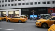 Footage of Zara Hollister Uniqlo and Tissot exteriors in Midtown Manhattan in New York New York Monday July 24 2017 Photographer Victor J Blue Shots...