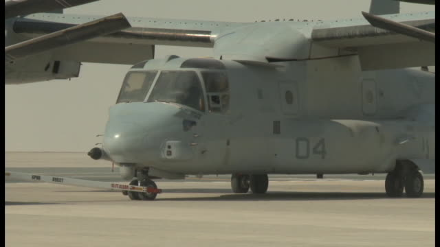 Footage showing Marine Central Command MV22 being staged for the 2017 Dubai Air Show Other aircraft being staged for the show by Marine Central...