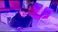 Footage taken on March 18 shows suicide bomber of terror attack Mehmet Ozturk at Istanbul's Istiklal Street seen at Adiyaman Bus Terminal in...