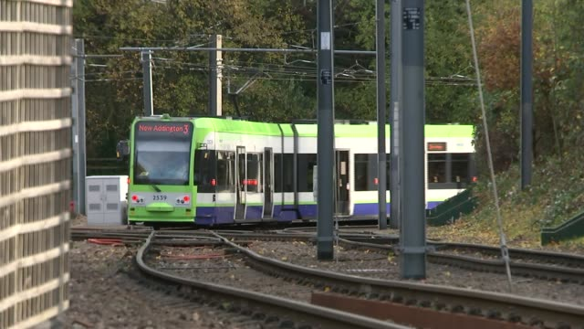 Footage which appears to show tram driver falling asleep probed Tram along tracks Marilyn Logan interview SOT