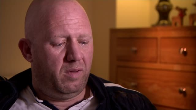 Football Association launches internal review into historical sex abuse allegations against youth coaches Jason Dunford interview SOT Wembley Wembley...