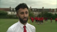 Football club set up after London riots competes in the FA Cup Prince Choudary interview SOT
