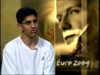 Euro 2004 Role of advertising and money ITN Kevin Alavy interview SOT There's strong evidence in Europe and Asian that England's matches are more...