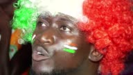 Football fans in Abidjan celebrate Ivory Coasts victory in the final of the African Cup of Nations