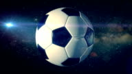 Football in the Space - Loopable