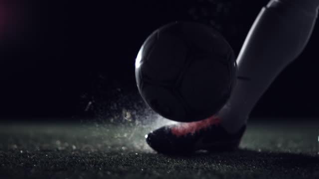 Football kick off