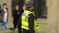 Footballer Adam Johnson jailed for 6 years on child sex charges ENGLAND Yorkshire Bradford EXT Former footballer Adam Johnson and others running...
