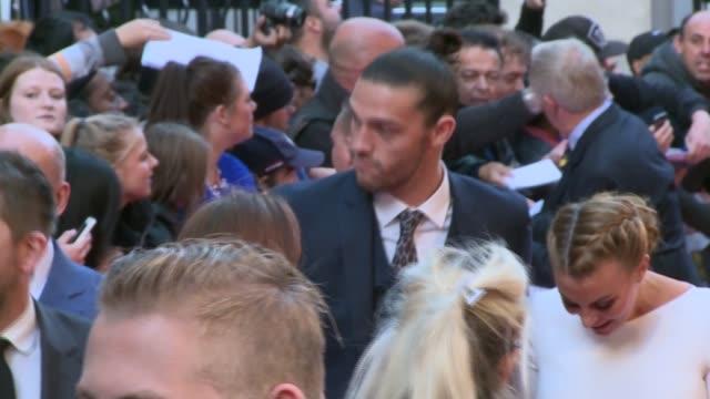 Footballer Andy Carroll escapes gunmen LIB Andy Carroll and Billi Mucklow along at premiere