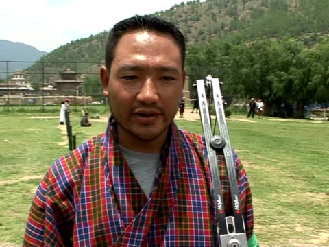 For centuries BhutanÕs national sport archery has had a fervent following in the mountaineous Himalayan Kingdom Steeped in the countryÕs military...