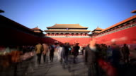 T/L of Forbidden City, Beijing, China
