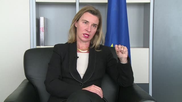 EU foreign affairs head Federica Mogherini says that a high stakes Ukraine peace summit in Minsk would be a turning point in the conflict