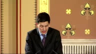 Foreign and Commonwealth Office Human Rights Report launch David Miliband MP speech SOT The fourth policy priority is to build up effective...