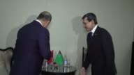 Foreign ministers of Turkey Azerbaijan and Turkmenistan on July 19 2017 exchanged their views on strengthening cooperation among the three countries...
