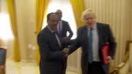 Foreign Secretary Boris Johnson meeting with the President of Somalia Mohamed Abdullahi Mohamed
