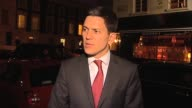 Foreign Secretary David Miliband makes statement over Labour leadership contest following Prime Minister Gordon Brown's announcement that he is to...