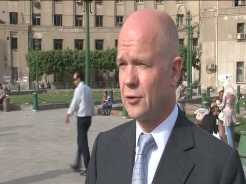 Foreign Secretary William Hague gives his reaction to the death of Osama Bin Laden