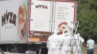 Forensic officers are investigating after the bodies of between 20 and 50 migrants have been found in a truck on a highway in Austria the latest...