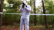 Forensics taking photos