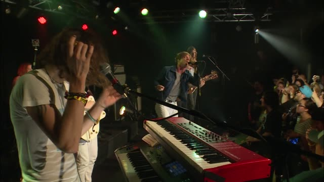 Formed by Matt Shultz Brad Shultz Jared Champion Lincoln Parish and Daniel Tichenor Cage The Elephant performs 'Ain't No Rest For The Wicked' live in...