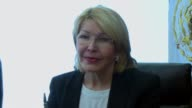 Former attorney general of Venezuela Luisa Ortega who fled her country saying the government wanted to kill her after she challenged it over a deadly...
