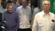 Former Brazilian president Luiz Inacio Lula da Silva offered on Wednesday afternoon in Havana a press conference the only activity of its agenda in...