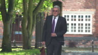 Former club secretary and safety officer for Sheffield Wednesday FC Graham Mackrell arriving at court for a criminal trial related to the...