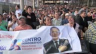 Former Colombian president Alvaro Uribe is getting ready to return to politics VOICED Colombia Alvaro Uribe's popular return t on February 17 2014 in...