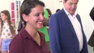 Former Education minister Najat Vallaud Belkacem a top ranking minister in François Hollandes socialist government voted Sunday in the first round of...