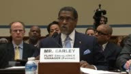 Former Emergency Manager Darnell Earley for the City of Flint Michigan tells the House Oversight and Government Reform Committee that he had always...